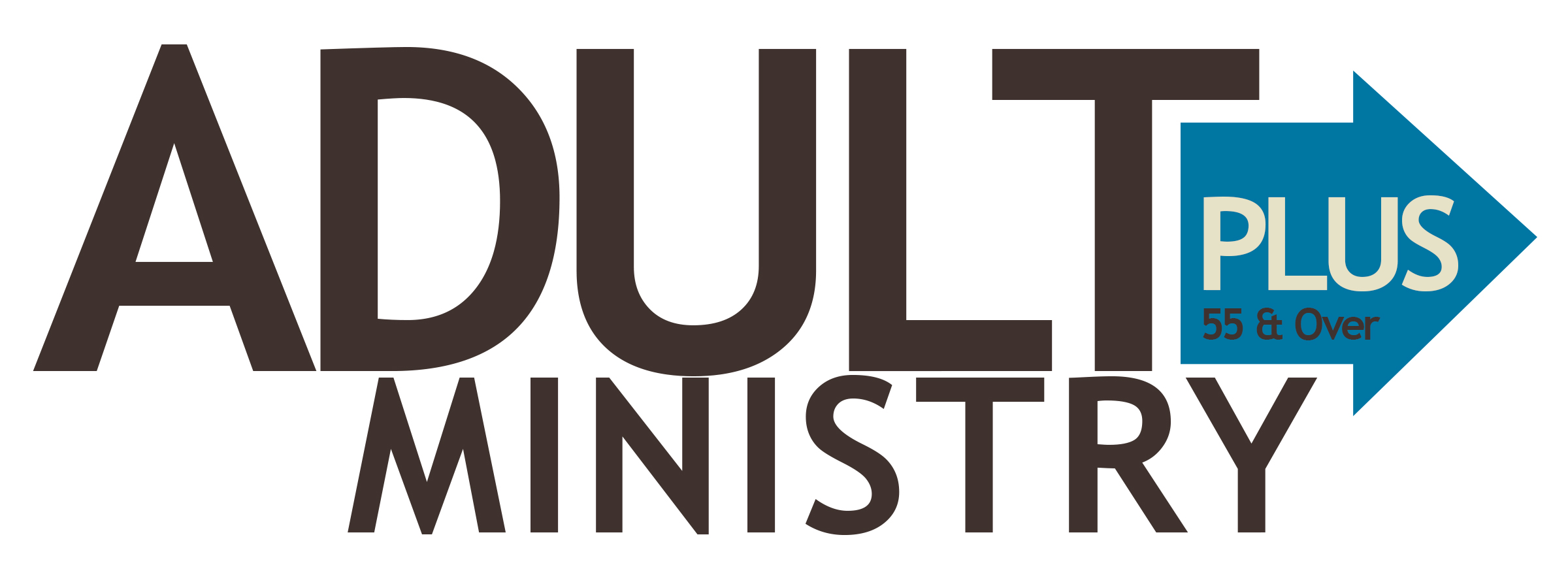 Adult Ministry Plus Logo Final